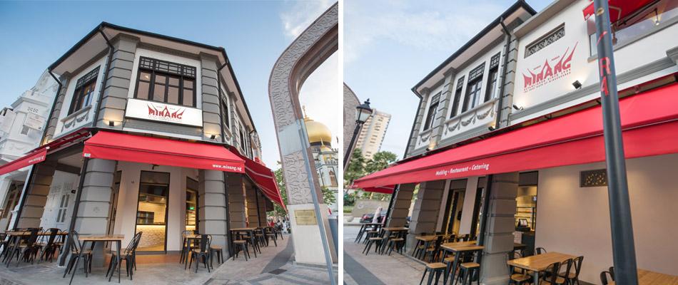 Rumah Makan Minang Halal Indonesian Restaurant Minangkabau Cuisine